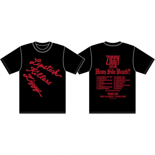 ZIGGY TOUR2020「NEWS SIDE BEACH!!」ロゴTシャツ