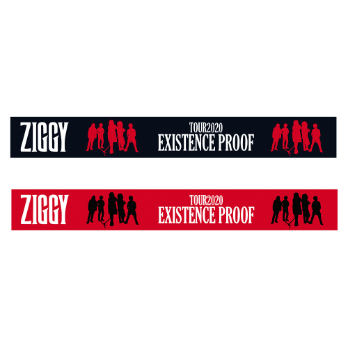 ZIGGY TOUR2020「EXISTENCE PROOF」シリコンバンド