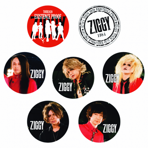 ZIGGY TOUR2020「EXISTENCE PROOF」缶バッチ2コセット